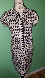 Diane Von Furstenberg Vanozza Silk Dress size 4